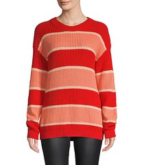 fruit bowl striped pullover