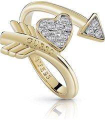 anillo guess cupid/ubr85013-56 - dorado