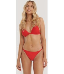 na-kd swimwear bikinitrosor med tunna band - red