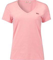 t-shirt perfect v-neck roze