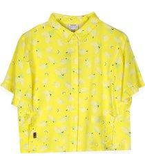 camisa manga corta amarillo  pillin