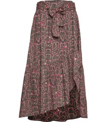 for the love of lust skirt knälång kjol multi/mönstrad odd molly