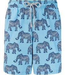 bluemint kandula print swim shorts