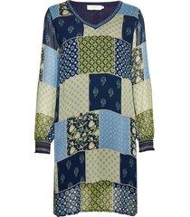 clodiecr dress kort klänning multi/mönstrad cream