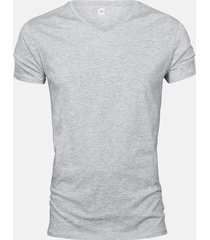 basic t-shirt - ljusgrå