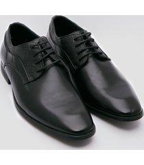zapatos oxford negro 38