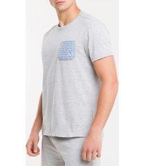 camiseta m/c algodão 1981 - mescla - s