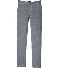 pantaloni chino in chambray con cinta comoda regular fit (blu) - bpc selection