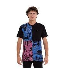 qk camiseta esp m/c vortex - preto - m