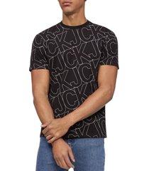 calvin klein jeans men's ckj logo graphic t-shirt