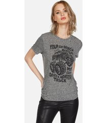 capri monster truck - xl heather grey