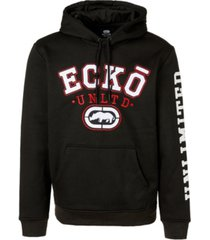 ecko unltd men's layered up full zip hoodie