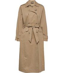 sally trench coat trenchcoat lange jas beige gina tricot