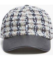 czapka z daszkiem model cessily tweed