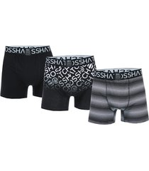 mens formbee 3 pack boxer shorts