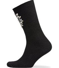 gisele high socks lingerie socks regular socks svart underprotection
