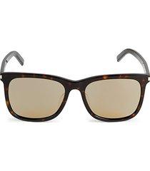 core 58mm square sunglasses