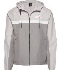 nb athletics 78 jacket dun jack grijs new balance