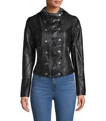 new dawn vegan leather jacket