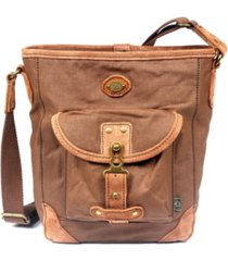 tsd brand dolphin canvas crossbody bag