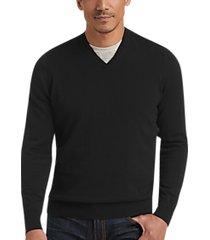 joseph abboud black v-neck sweater