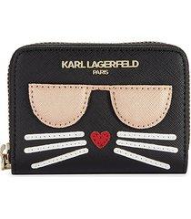 karl lagerfeld paris choupette card case - blackmix