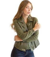 chaqueta dean verde militar racaventura