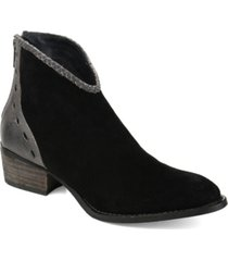 journee collection signature women's gracie bootie women's shoes