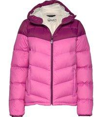 halle w jacket gevoerd jack roze halti
