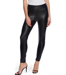 vince camuto faux leather leggings, size xx-small in rich black at nordstrom
