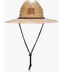 outsider tie dye lifeguard hat