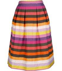 randig kjol amy vermont flerfärgad