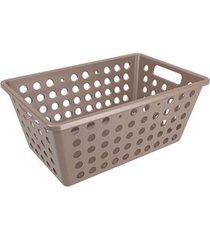 cesta one grande 28,8x19,1x12,3cm warm gray - 10806/0126 - coza - coza