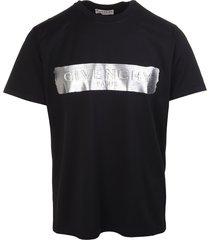 3d metallic logo t-shirt