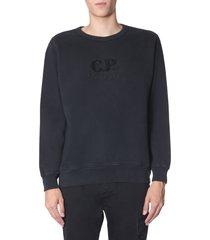 c.p. company diagonal fleece sweatshirt