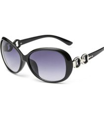gafas lentes sol mujer ovalada uv400 3016 negro
