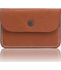 jekyll & hide roma slim coin & card pouch - tan 3221