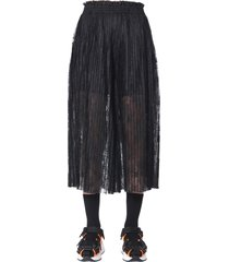 mm6 maison margiela trouser skirt