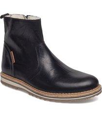 myka z mid fur m shoes boots winter boots svart björn borg