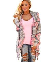 boho women loose casual long sleeve knitted cardigan jacket long poncho coat
