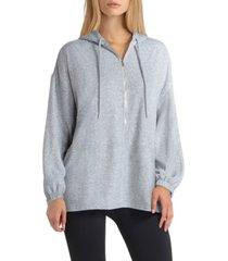 studio women's zip front hoodie jacket
