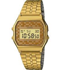 reloj vintage dorado casio