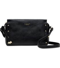 radley london zip-top leather crossbody