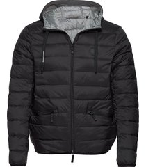 armani exchange down jacket gevoerd jack zwart armani exchange
