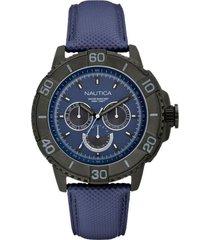 reloj casual azul nautica