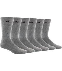 adidas men's 6 pack climalite crew socks