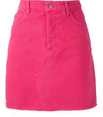 eva twill mini skirt - pink