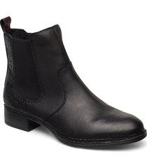 73494-01 shoes chelsea boots svart rieker
