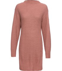 maglione lungo a collo alto (rosa) - rainbow