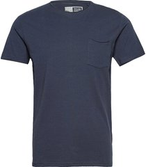 6194762, t-shirt - gaylin ss organi t-shirts short-sleeved blå solid
